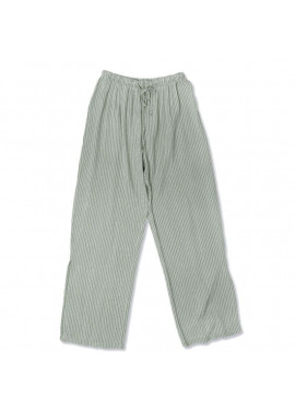Παντελόνα ριγέ με μικρό άνοιγμα