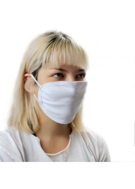 Υφασμάτινη μάσκα σε χρώμα λευκό