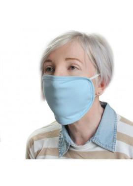 Blue cloth face mask