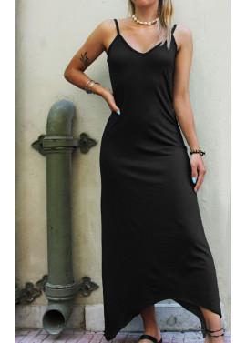 Maxi asymmetric dress