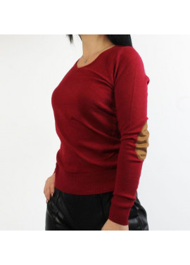 Blouse with detail on the elbow