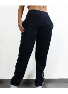Sweatpants with stripe