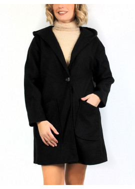 Plain color coat