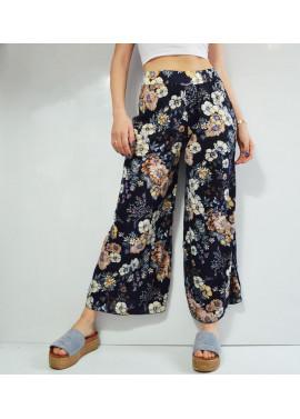 Παντελόνα με πριντ λουλούδια