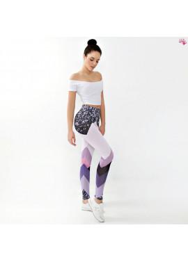 Colorful printed leggins